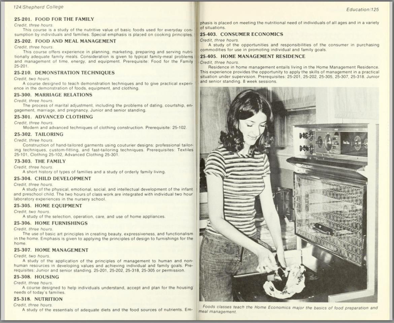 1977-79 Shepherd College Catalog
