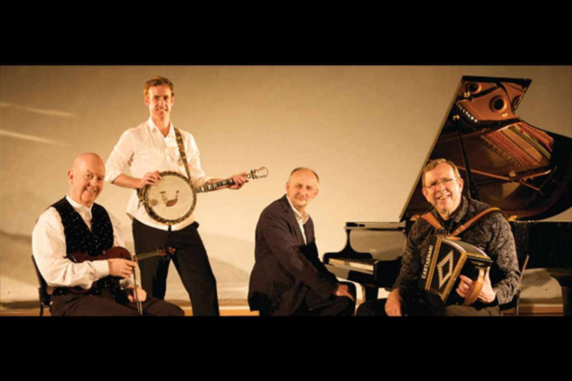 The Brock McGuire Band from Ireland will perform a Veterans Day concert on Tuesday, November 11, at 8 p.m. at Shepherd University's Frank Center Theater.