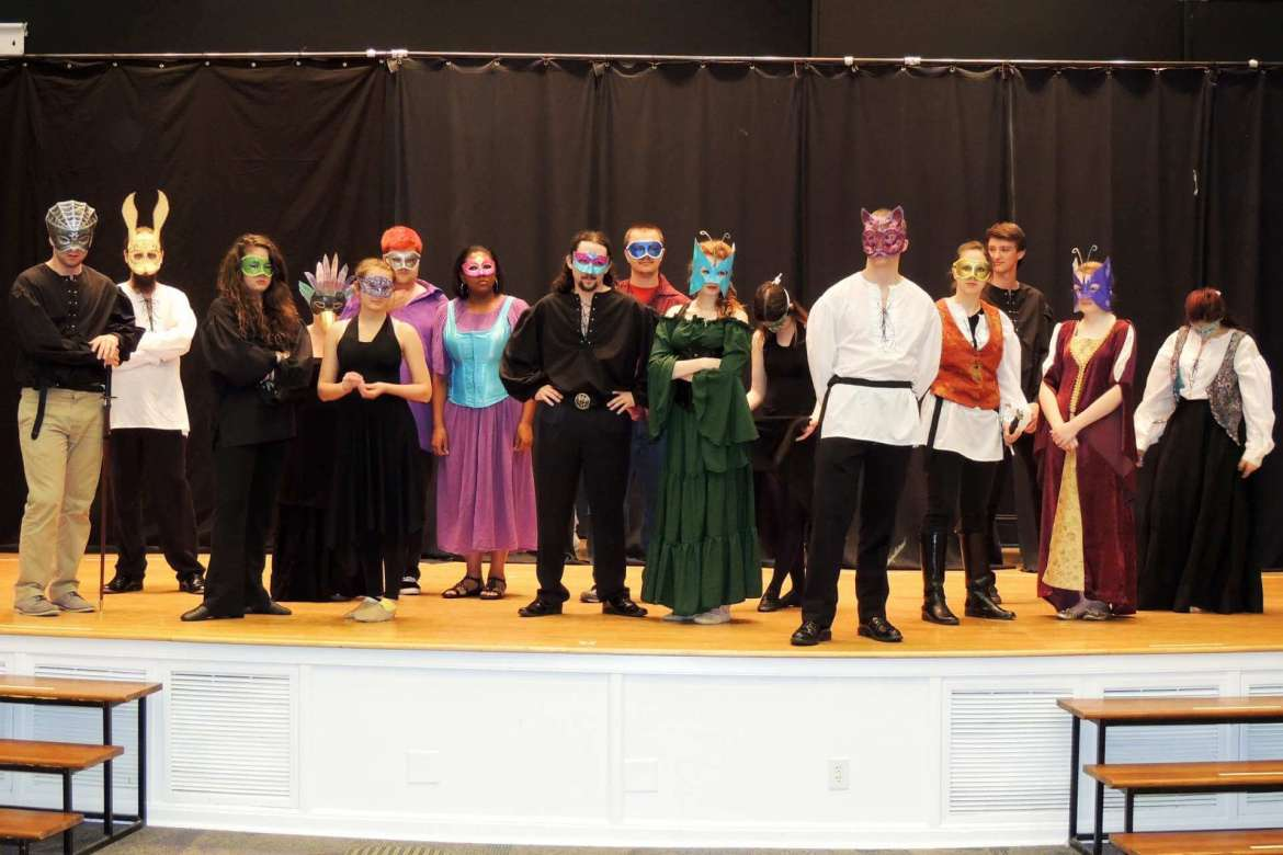"Rude Mechanicals Medieval and Renaissance Players will present Shakespeare's romantic comedy ""Much Ado About Nothing."""