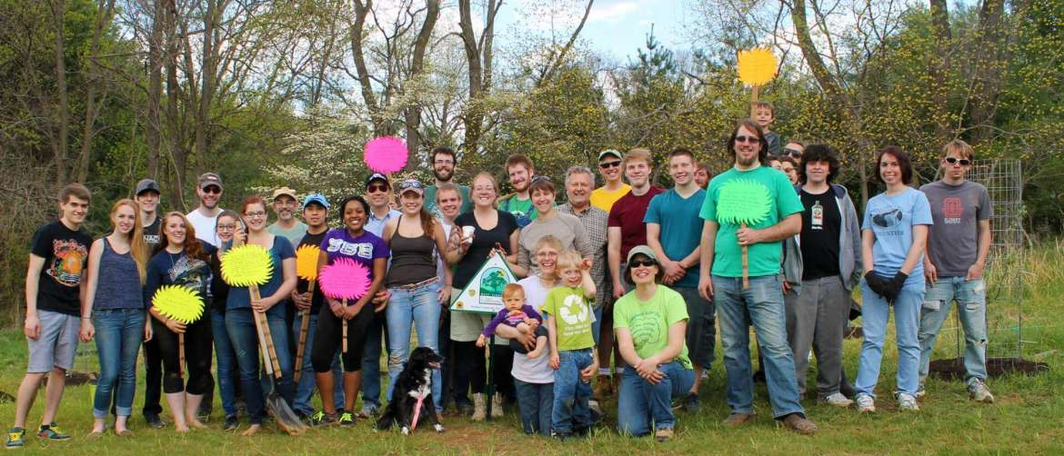 More than 30 volunteers planted 34 trees in this April.