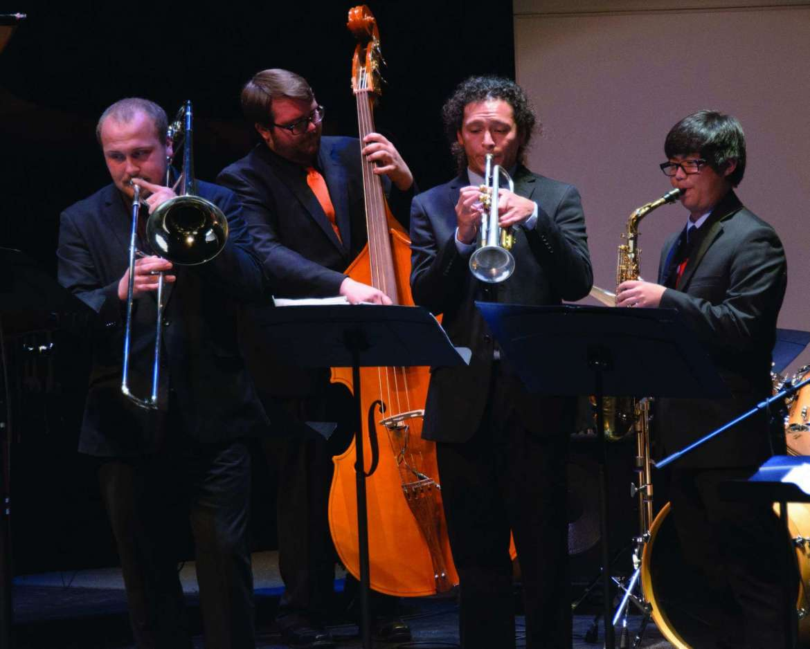 Department of Music is hosting a night of jazz at the Frank Center Theater on Tuesday, November 4, at 8 p.m.