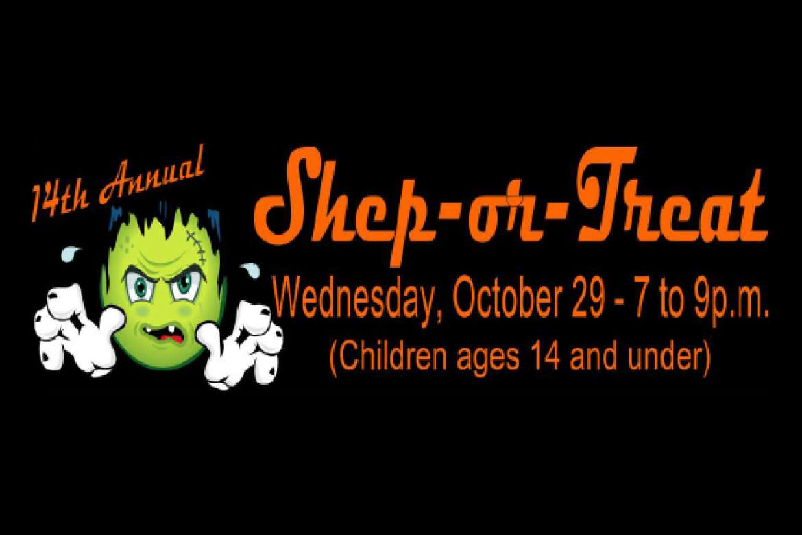 Shepherd University will host its 14th annual Shep-or-Treat Halloween festivities on Wednesday, October 29 from 7 to 9 p.m. All faculty, staff, and community members are encouraged to bring their children (ages 14 and under) for a fun night of activities in the residence halls, Student Center, Dining Hall, Scarborough Library, and Wellness Center.