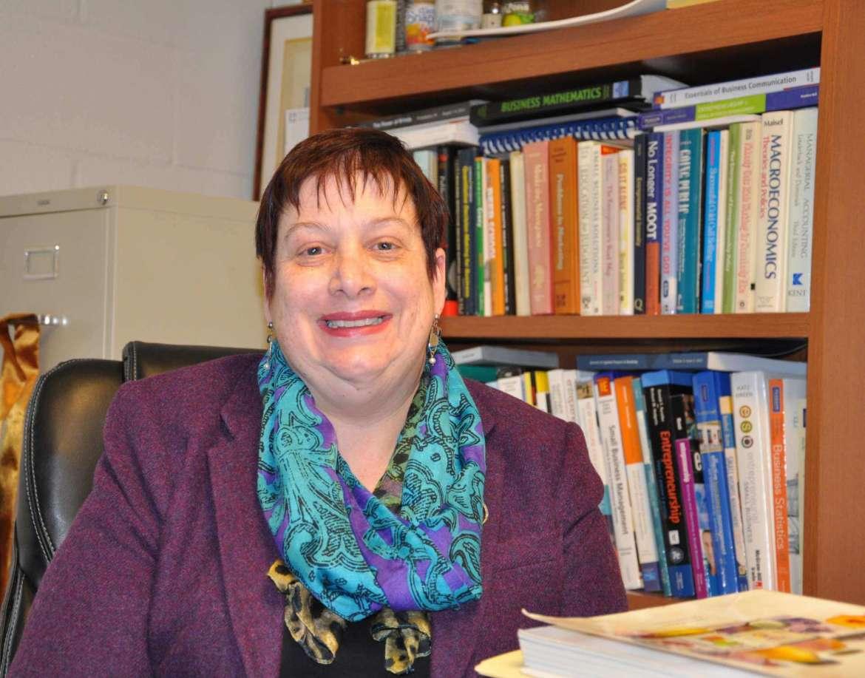 Dr. Caroline Glackin, Edward L. Snyder Chair in business administration.