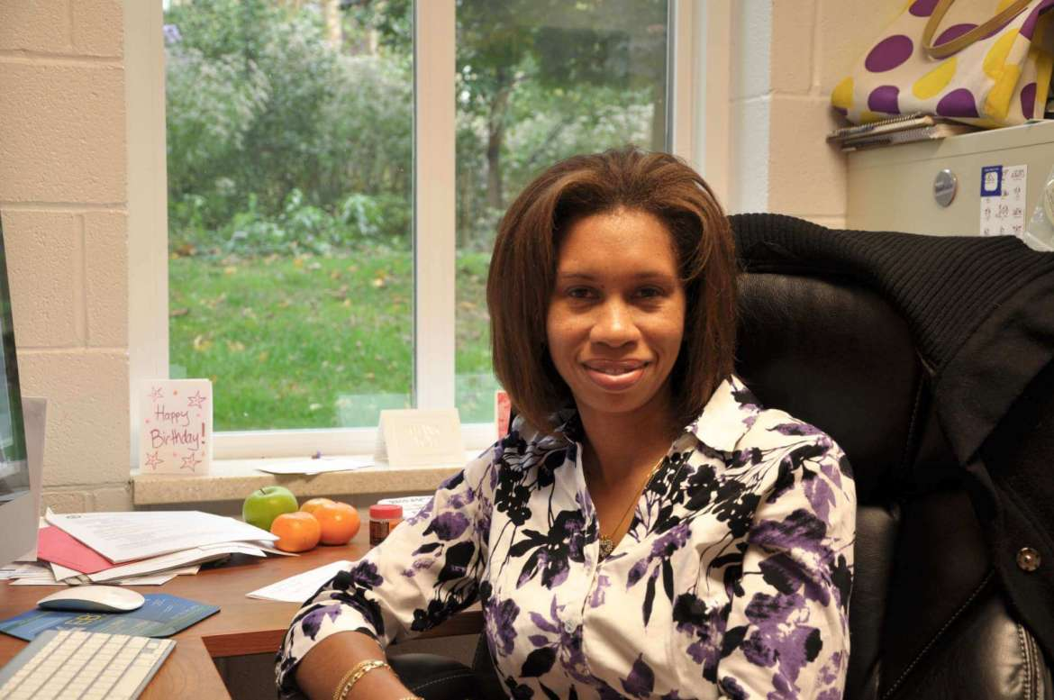 Dr. Cydne Perry, assistant professor of family and consumer science.
