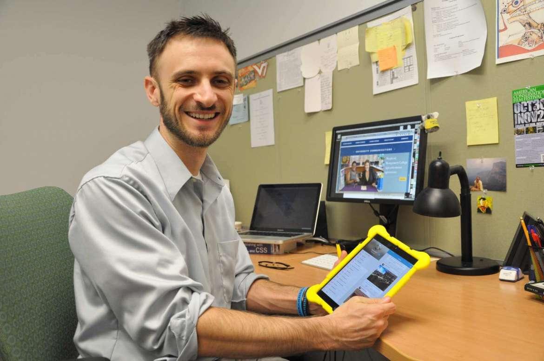 Communications Professor Matt Kushins designes monile conference app for the 7th International Congress of Behavior Optometry in Birmingham, United Kingdom, September 11-14.