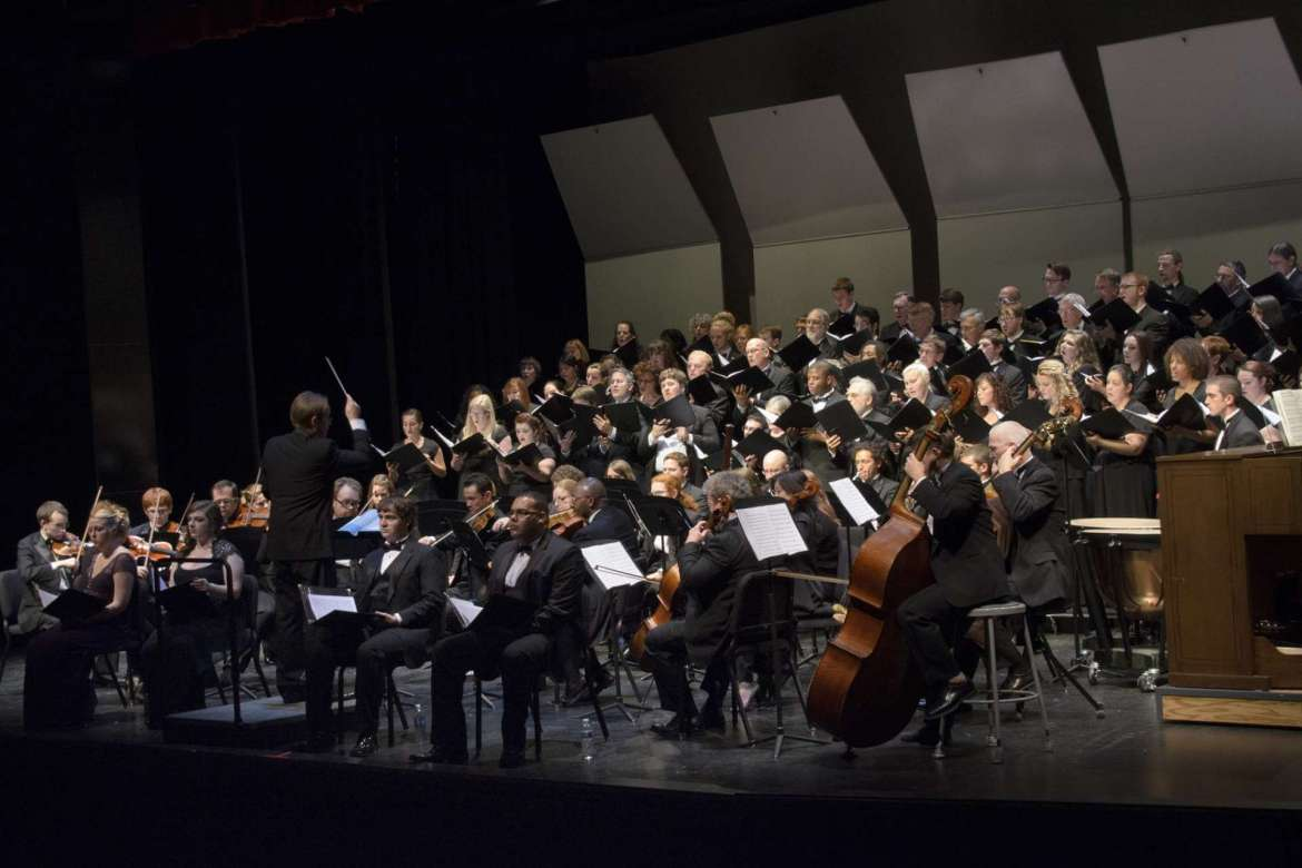 """Masterworks Chorale will present George Frideric Handel's """"Messiah"""" with full orchestra and soloists on Saturday, November 15 at 7:30 p.m., at St. James the Greater Catholic Church in Charles Town and on Sunday, November 16 at 7 p.m., at the Frank Center Theater."""