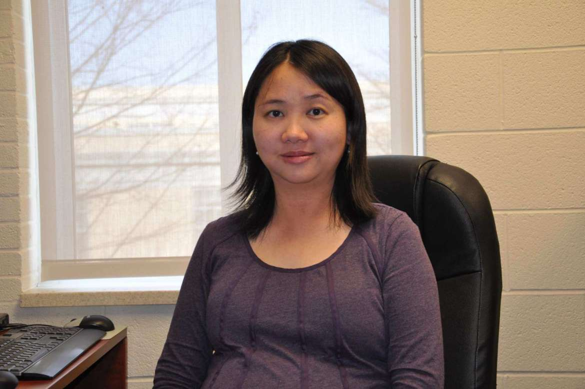 Dr. Qing Wang, associate professor of mathematics.