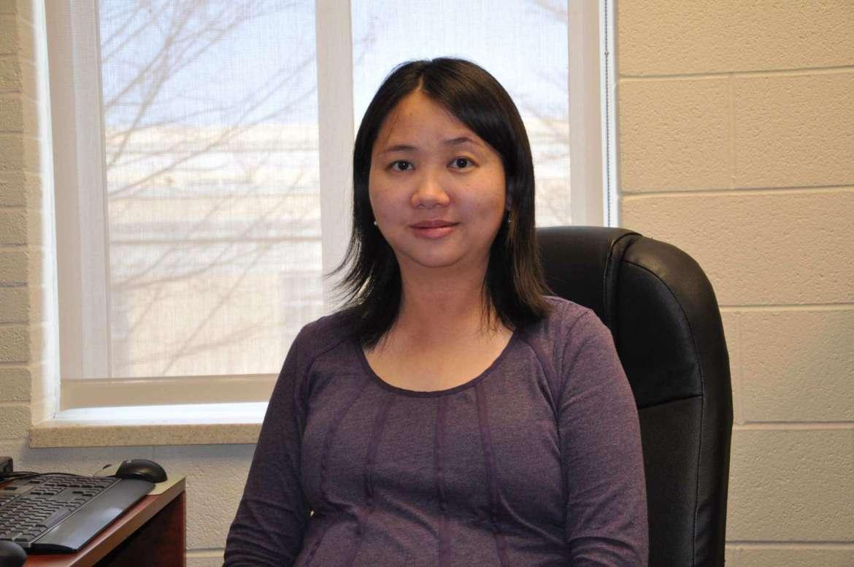 Dr. Qing Wang, associate professor of mathematics.