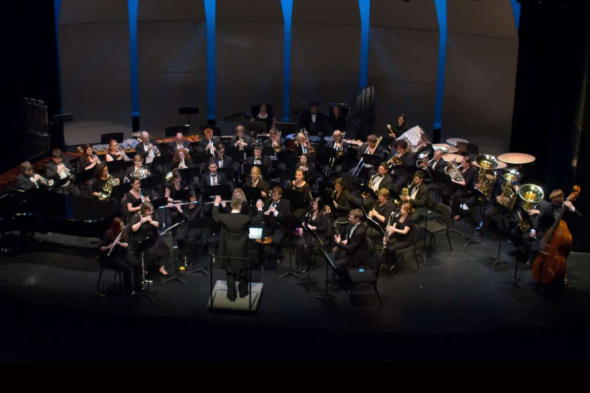 The Shepherd University Wind Symphony will present a variety of wind band pieces as interpreted by a new generation of conductors and Shepherd University Director of Instrumental Music Dr. Scott Hippensteel on Thursday, November 20 at 8 p.m., in the Frank Center Theater.