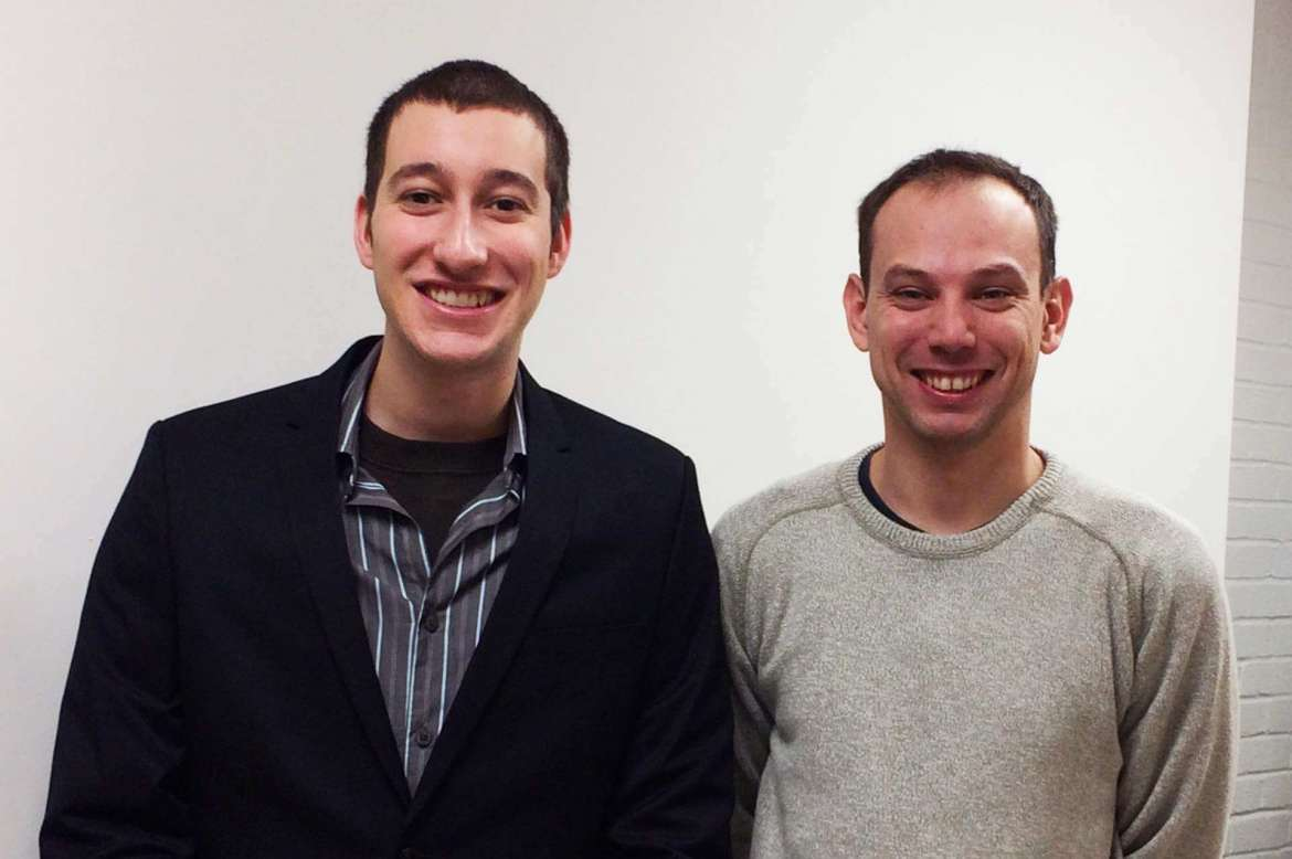 Raphael Capelli (L) and Alex Whalton (R) will represent Shepherd during the 9th annual West Virginia Collegiate Business Plan Competition at West Virginia University in April.