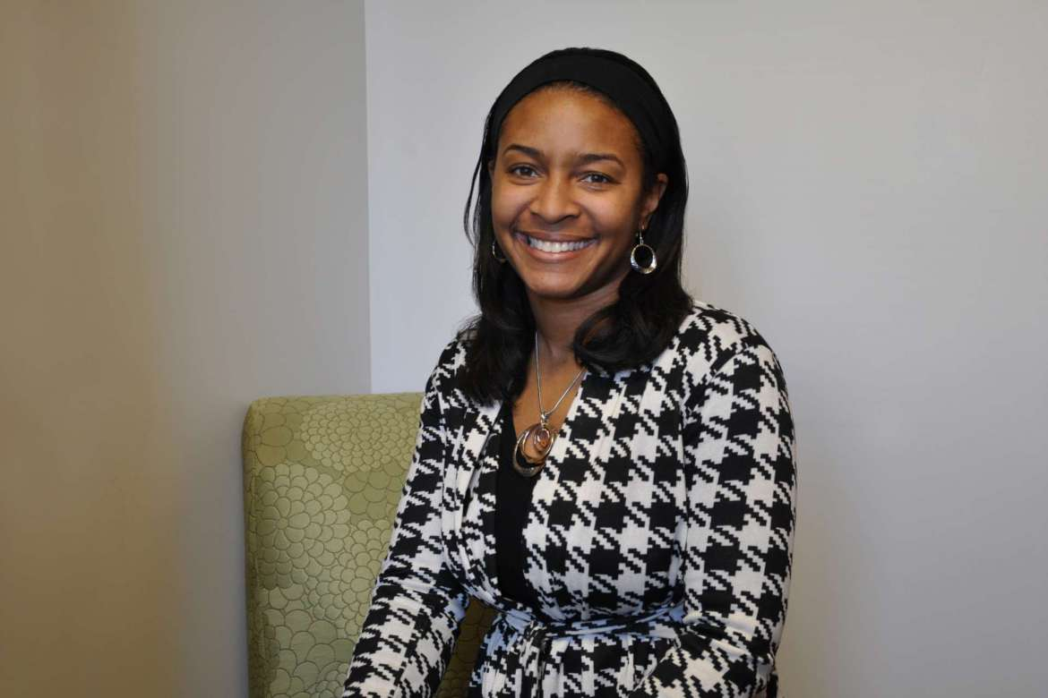 Dr. Chiquita Howard-Bostic, assistant professor of sociology, is the first recipient of Shepherd University's Storer College Faculty Award.