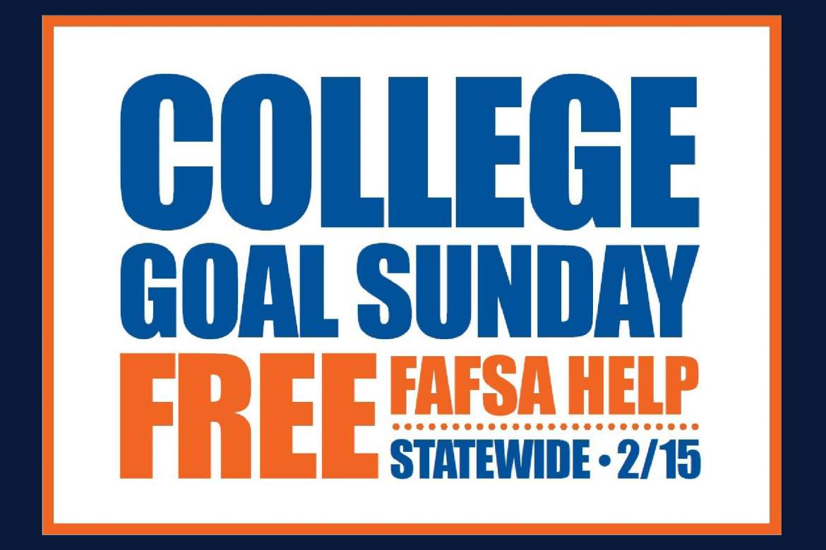 Anyone needing free, confidential help filling out the Free Application for Federal Student Aid (FAFSA) will find it at Shepherd University during College Goal Sunday on Februrary 15 from 1-4 p.m. in Erma Ora Byrd Hall.