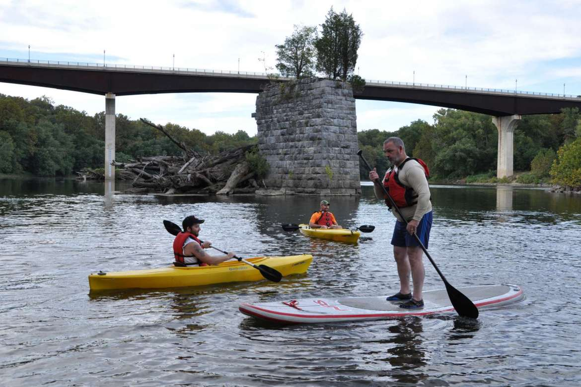 Shepherd offers students the opportunity to be involved in several organizations that focus on outdoor activities, like Team River Runner which gets veterans out on the Potomac River.