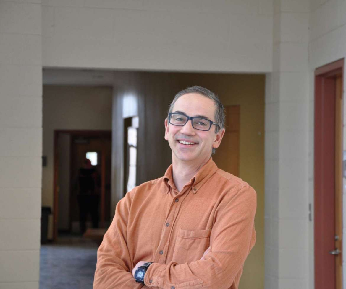 Dr. Peter Vila, assistant professor of environmental and physical sciences.