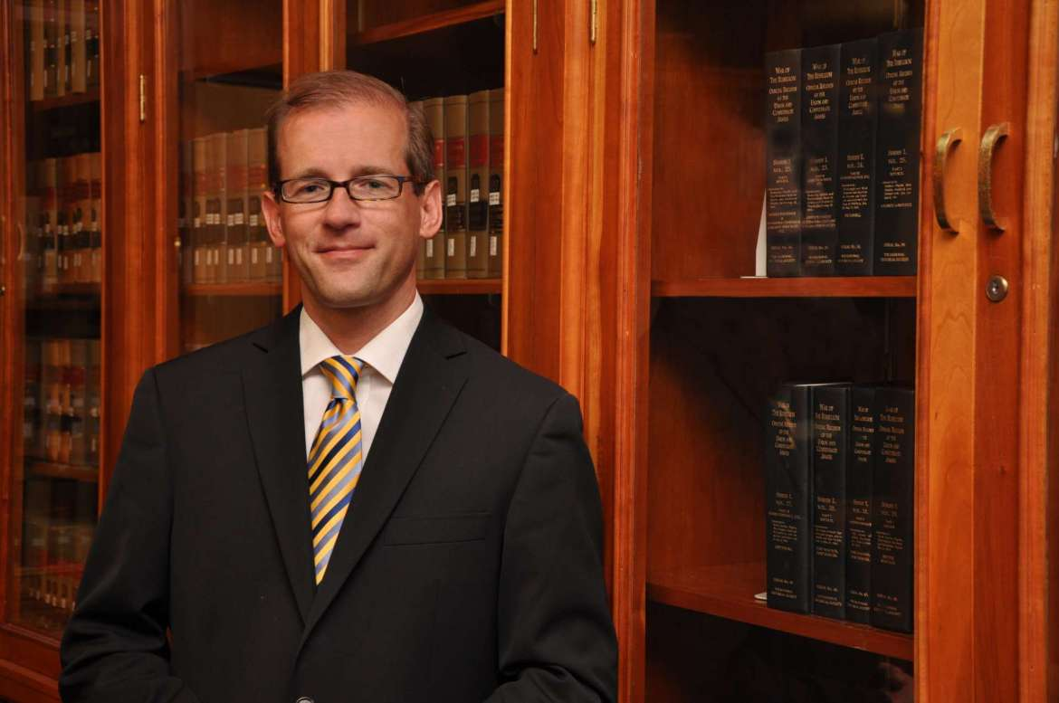 Dr. Scott Beard, associate provost and dean of Graduate Studies and Continuing Education
