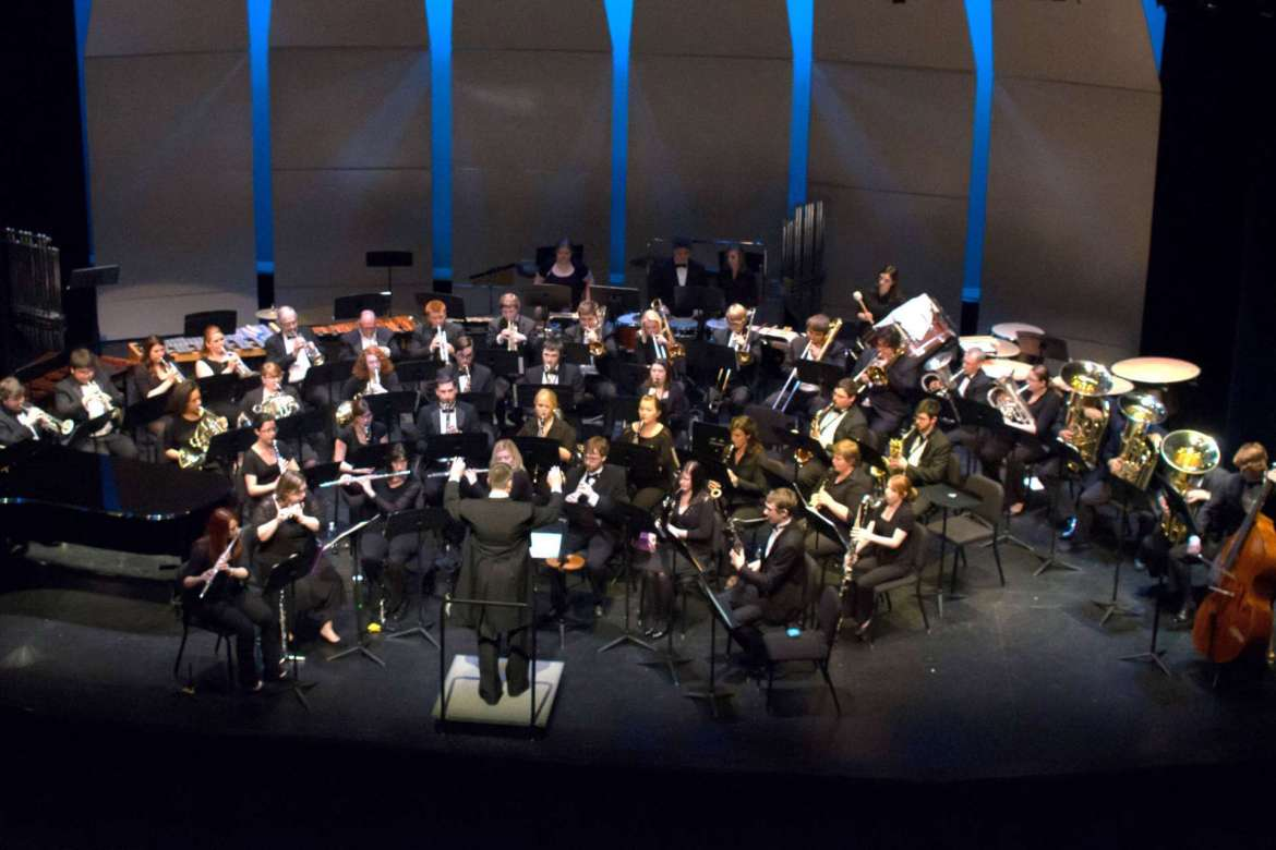 The Shepherd University Wind Ensemble and the Symphonic Band, under the direction of Dr. Scott Hippensteel, assistant professor of music and director of bands, will present Awayday on Friday, April 10, at 8 p.m. in the Frank Center Theater. Admission will include a pre-concert lecture that begins at 7:15 p.m. with Hippensteel and the musicians, who will play excerpts from and discuss the concert music.