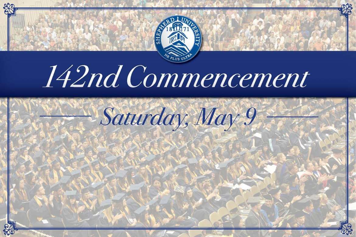 Shepherd University will host its 142nd Commencement on Saturday, May 9 at 1:50 p.m. in the Butcher Center. Carolyn Malachi, a Grammy-nominated singer.songwriter, social activist, and philanthropist, will deliver the commencement address.
