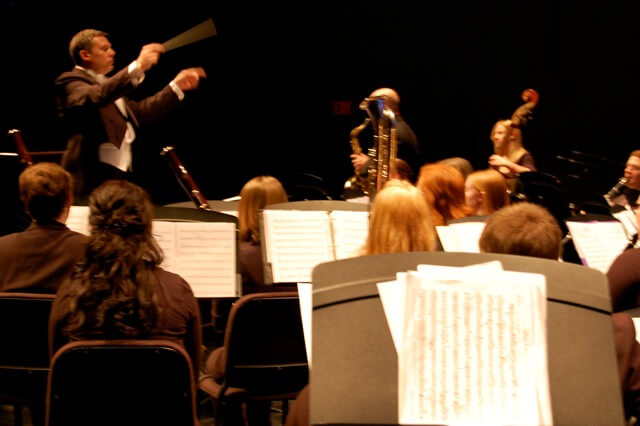 The concert will be under the director of Dr. Scott Hippensteel,  assistant professor of music and director of bands.