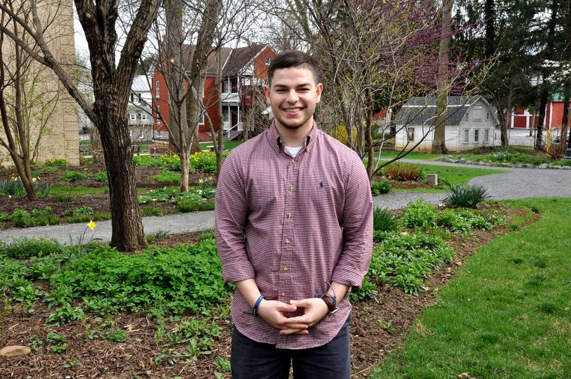 Shepherd University student Dillon Enright of Columbia, Maryland, won a Best Diplomat award representing the Syrian Arab Republic and portraying President Bashar al-Assad during the Southern Regional Model United Nations competition in Charlotte, North Carolina, April 9-11.