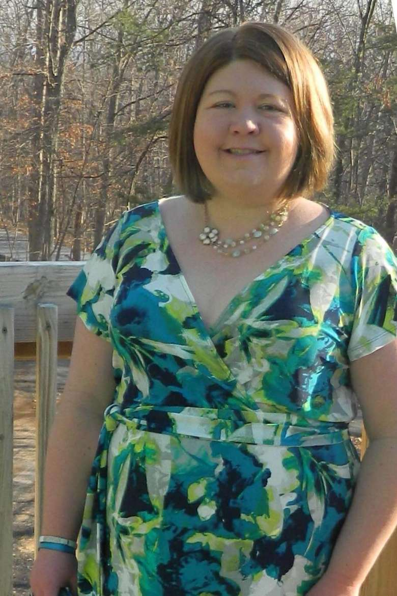 Teresa Cavagnaro, a master of arts in teaching student from Hedgesville