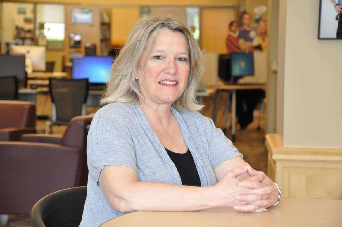 Lori Barnhart will serve as interim president of the newly-formed Tau Sigma National Honor Society at Shepherd University.