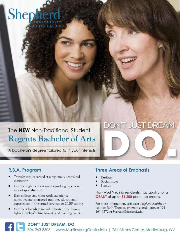 R.B.A. program ad.