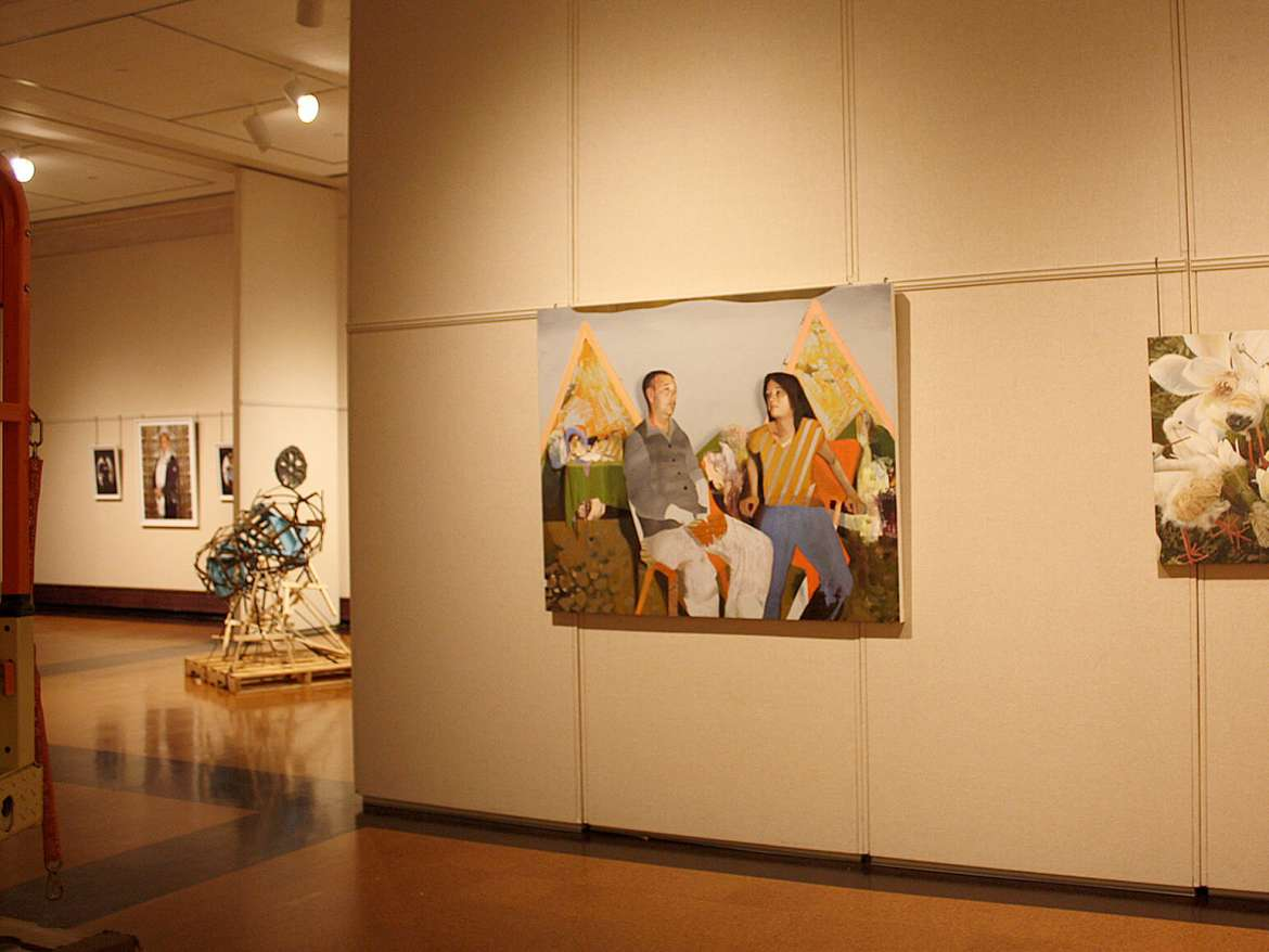 The work of Shepherd University art faculty members will be exhibited at the Washington County Museum of Fine Arts, 401 Museum Drive, City Park, Hagerstown, Maryland, through September 13.