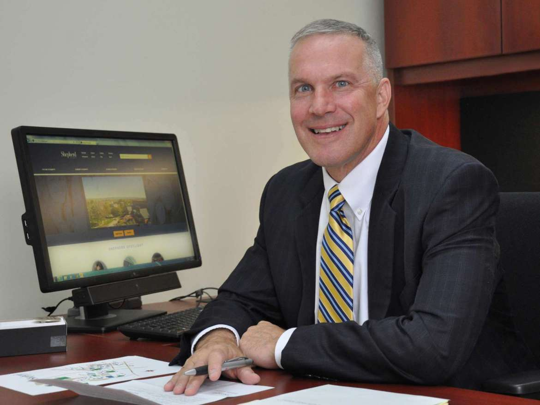 Christopher Sedlock, vice president for advancement.