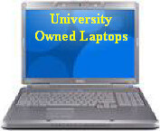 University Owned Laptop