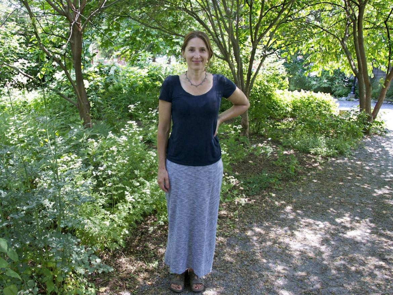 Sonya Evanisko, professor of art and coordinator of painting and drawing program.