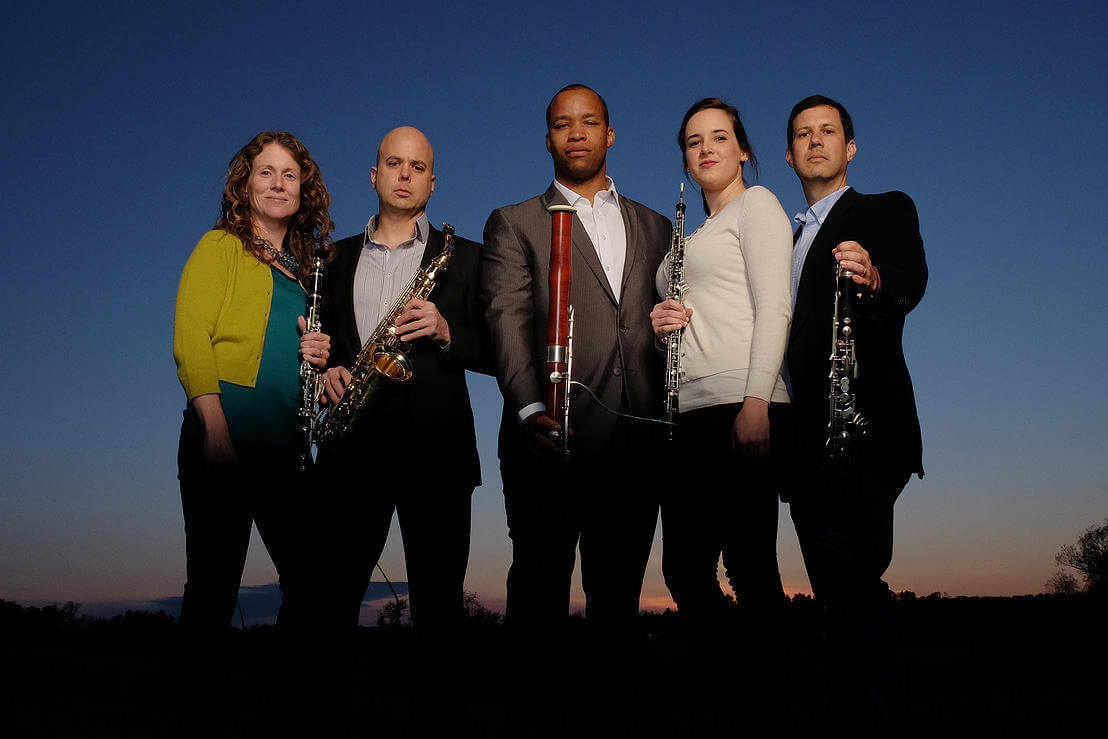 The Atlantic Reed Consort, a quintet composed entirely of reed instruments, will perform on Thursday, October 8.