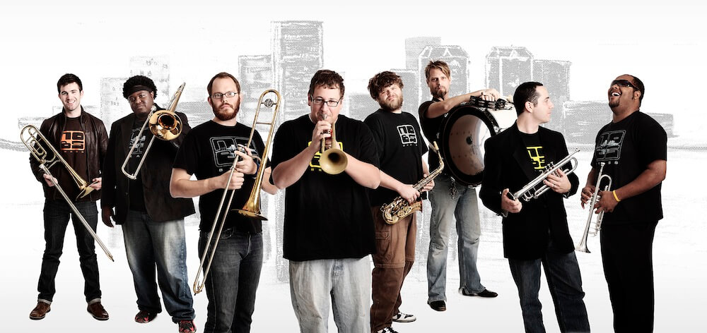 No BS! Brass Band kicks off this year's Performing Arts Series at Shepherd University Friday, September 11, at 8 p.m. at the Frank Center Theater.