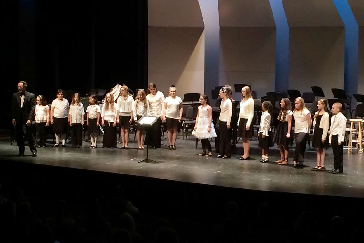 The Preparatory Chorus auditions will take place on Wednesday, September 2, beginning at 6 p.m. at the Frank Center.