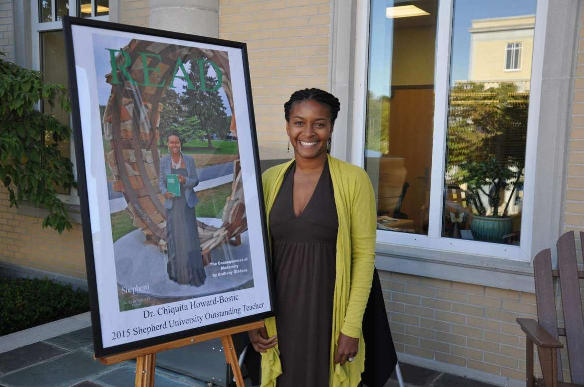 Dr. Chiquita Howard-Bostic is featured on this year's READ poster.