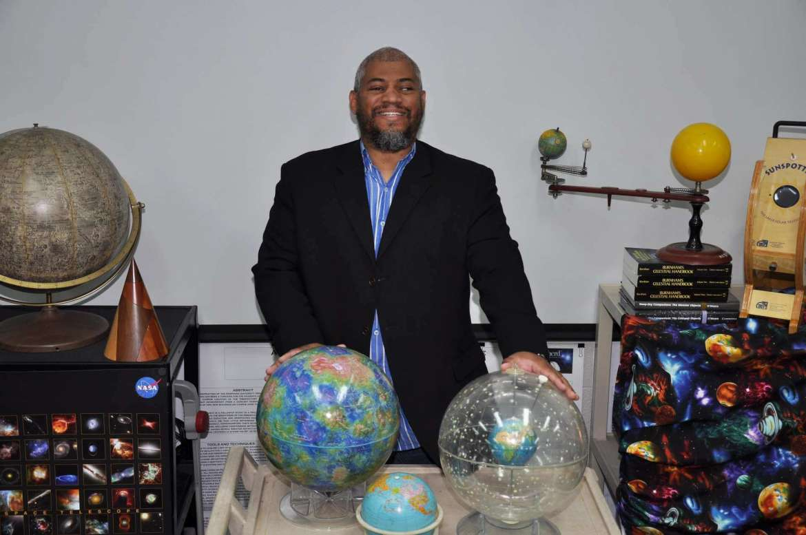 Dr. Jason Best, professor of astronomy and astrophysics, will oversee research done at Shepherd for the Gravitational Wave Astrononmy and Appalachian Freshwater Initiative. Shepherd received $100,000 over the next five years to fund its portion of the statewide $20 million research project.