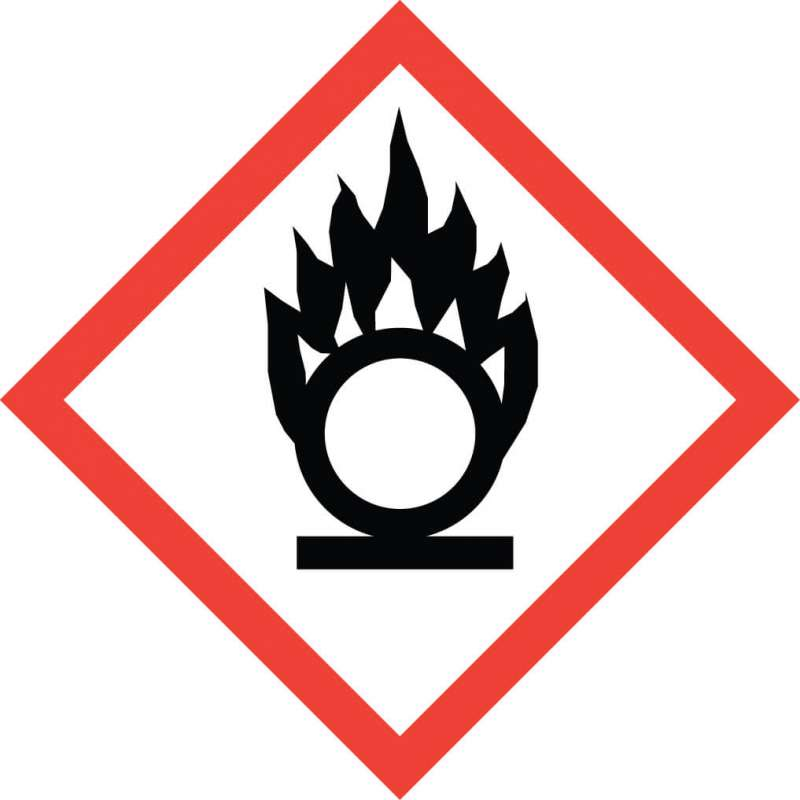 Oxidizer Pictogram