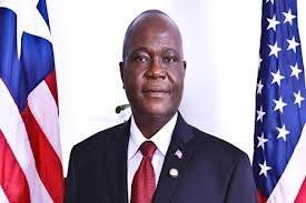 Jeremiah Sulunteh, ambassador of Liberia.