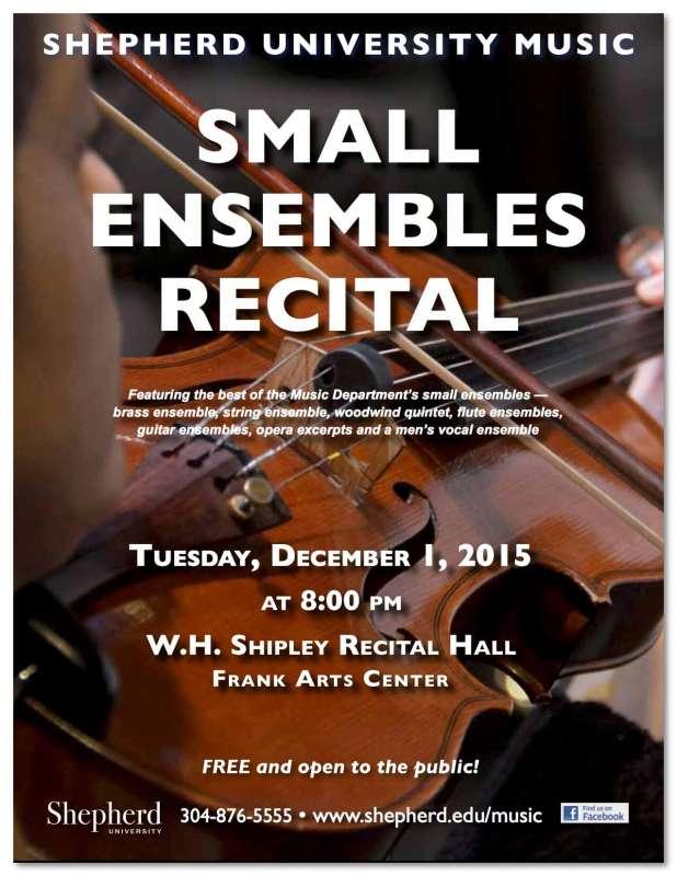 Small Ensembles recital_Dec
