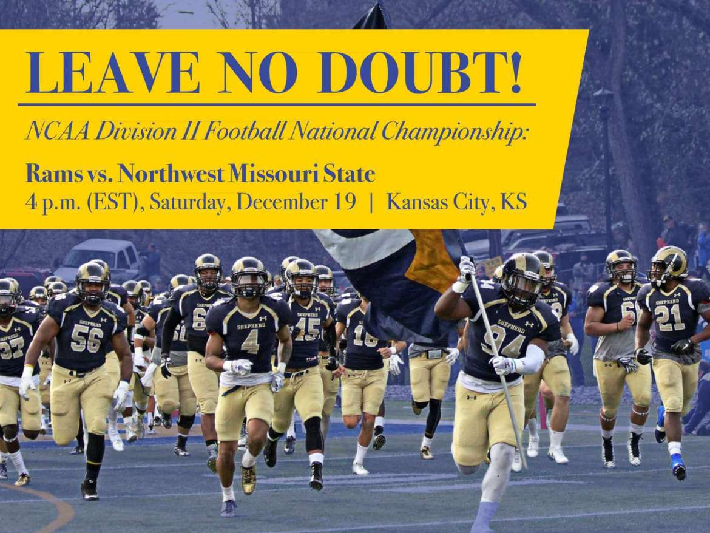 Shepherd Rams vs. Northwest Missouri State