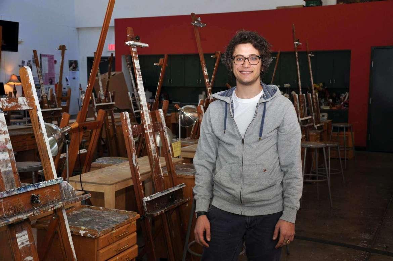 Shepherd University art student Sam Boder