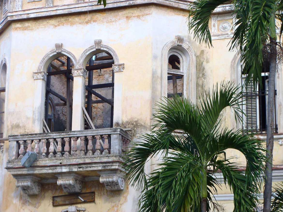An old building in Cuba.