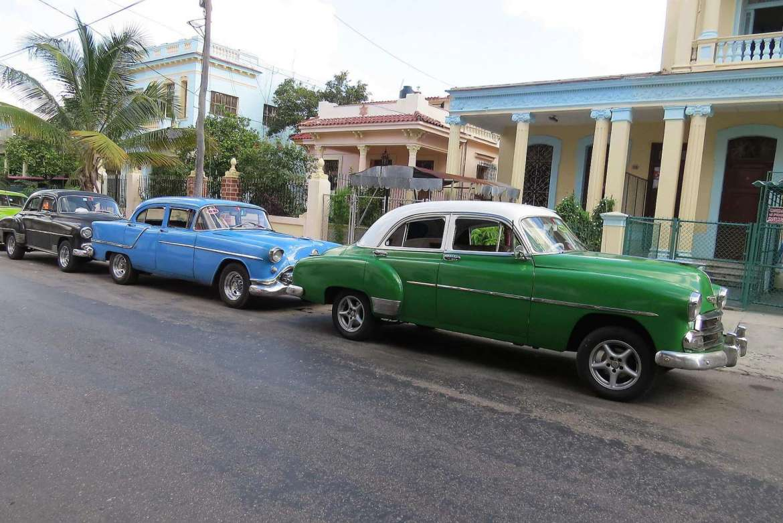 Old cars in Cuba.