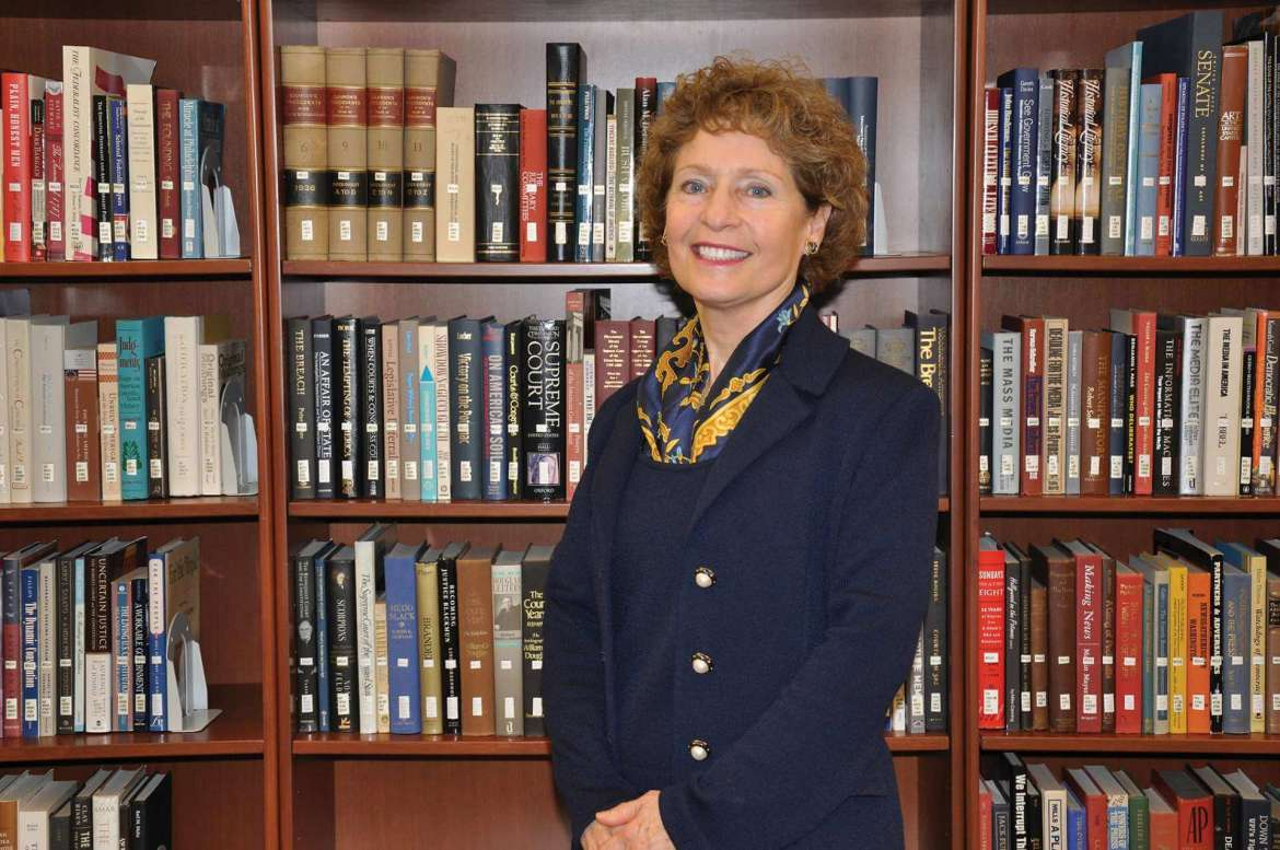 Dr. Mary J.C. Hendrix, an alumna and the 16th president of Shepherd University.