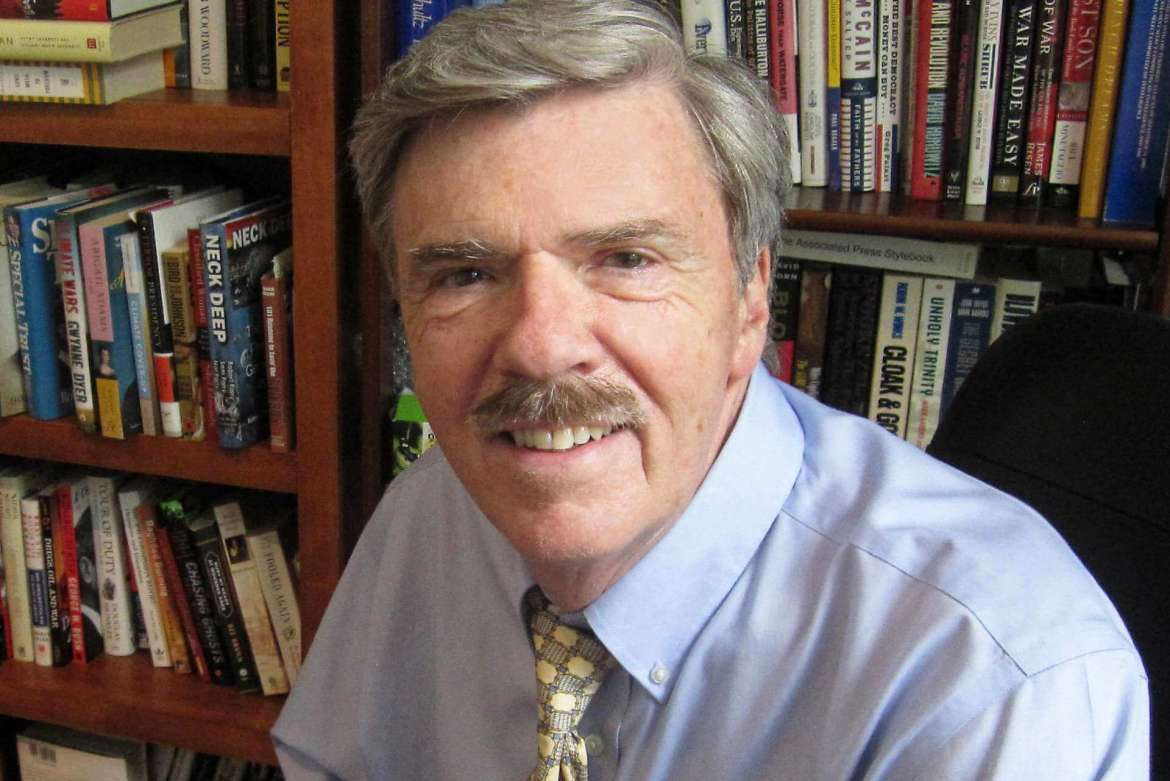 Robert Parry, award-winning investigative journalist.