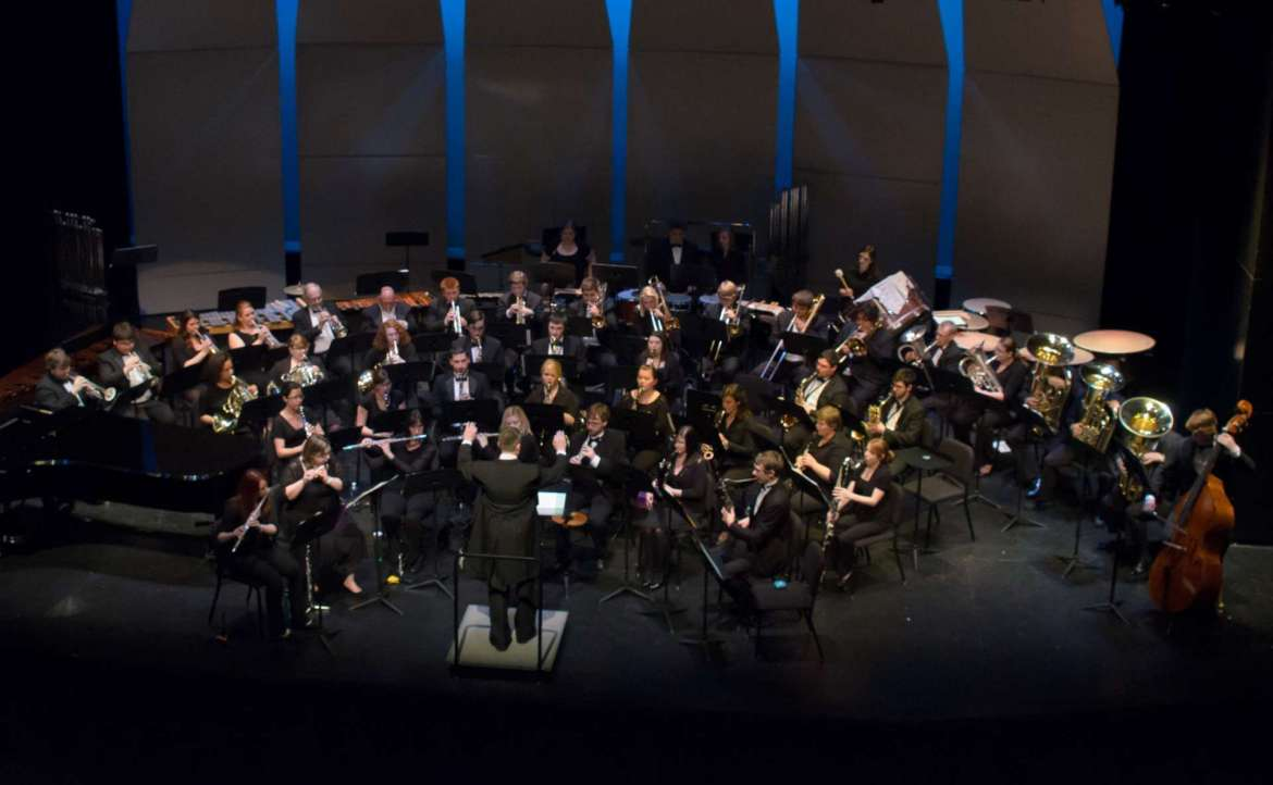 The Shepherd University Wind Ensemble and the Shepherd University Symphonic Band, under the direction of Dr. Scott Hippensteel, will present Tonal Vision, an evening of music exploring the connections between several works of visual art and music, on Friday, February 19, at 8 p.m. in the Frank Center Theater.