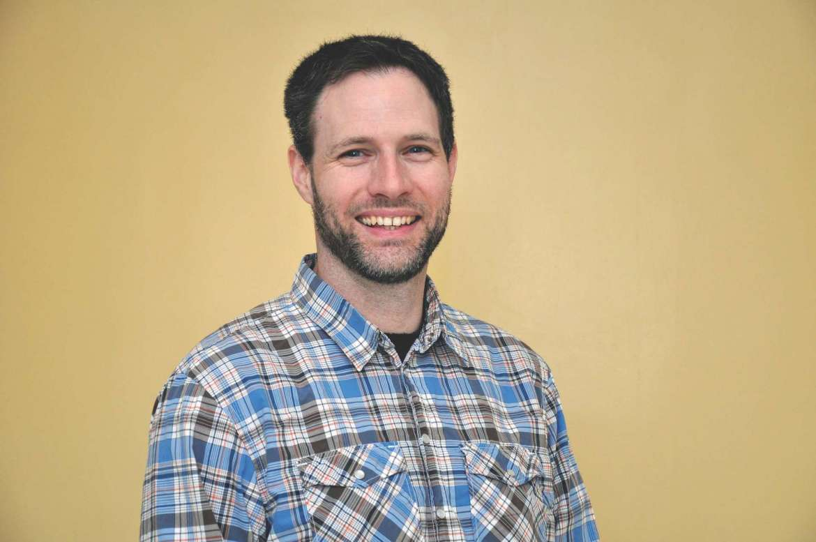 Dr. Jeffrey Groff, associate professor of physics in the Institute of Environmental and Physical Sciences at Shepherd