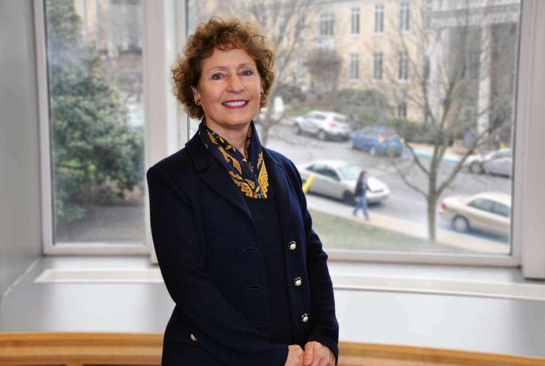 Mary J.C. Hendrix '74, the 16th president of Shepherd University.