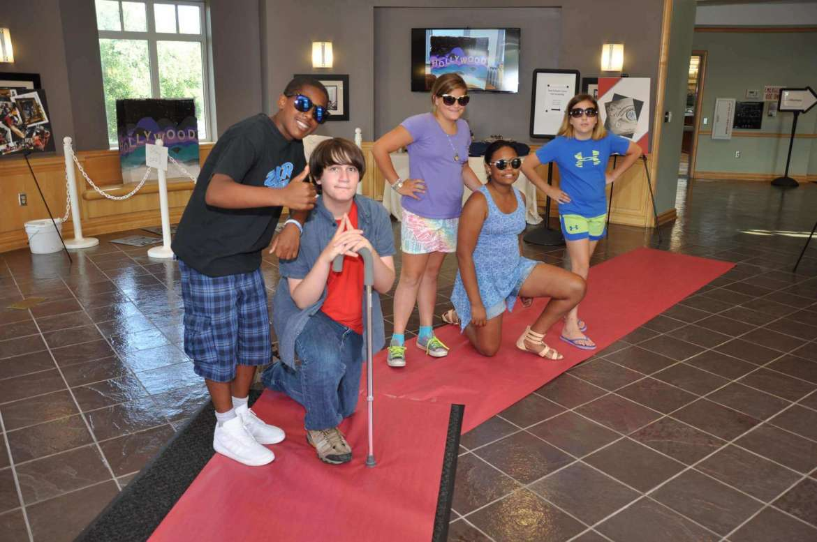 Students from the 2015 Ram Scholars Summer Camp Ready, Set, Action participated in an Academy Award-Style showing of the short films they created.