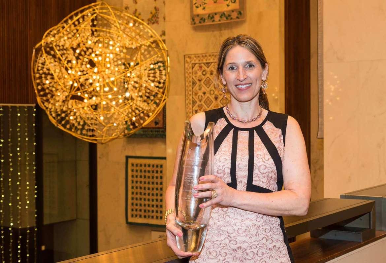 Sonya Evanisko, 2015 West Virginia Professor of the Year. Photo by Michael Keller.
