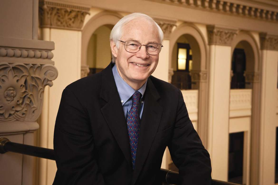 James A. Leach, the commencement speaker of Shepherd's 143rd Commencement on Saturday, May 7.